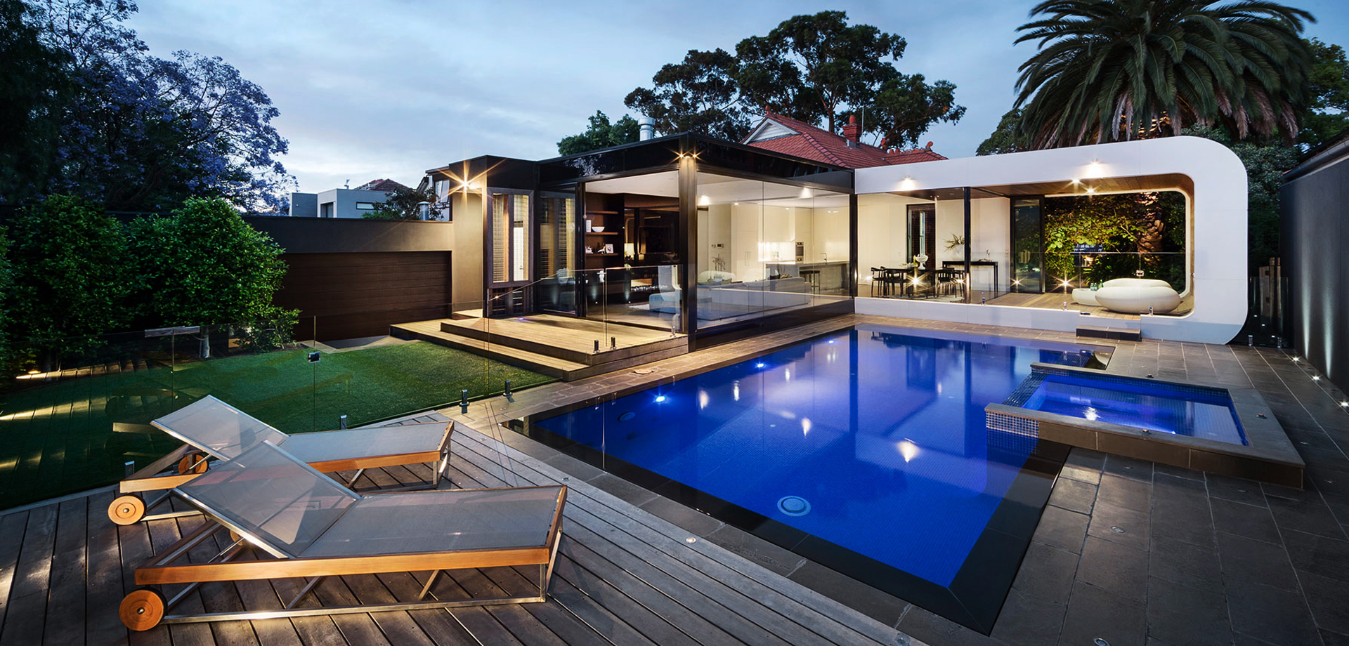 Swimming Pool And Spa Design Image May Contain Tree Sky Outdoor Nature